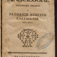 Elementa mineralogiae systematice disposita a Friderico Augusto Cartheuser med. doct.